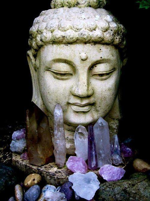 buddha crystals