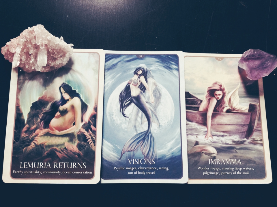 Mermaid Oracle Card Readings by Ethereal Mermaid
